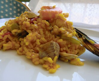 Arroz con Rape y Marisco