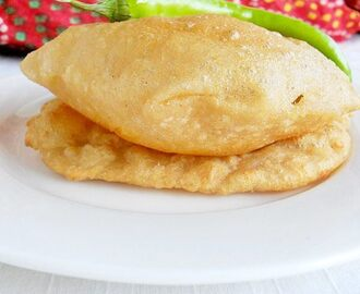 Bhatura Recipe / 100 % Whole Wheat Bhatura / Bhature