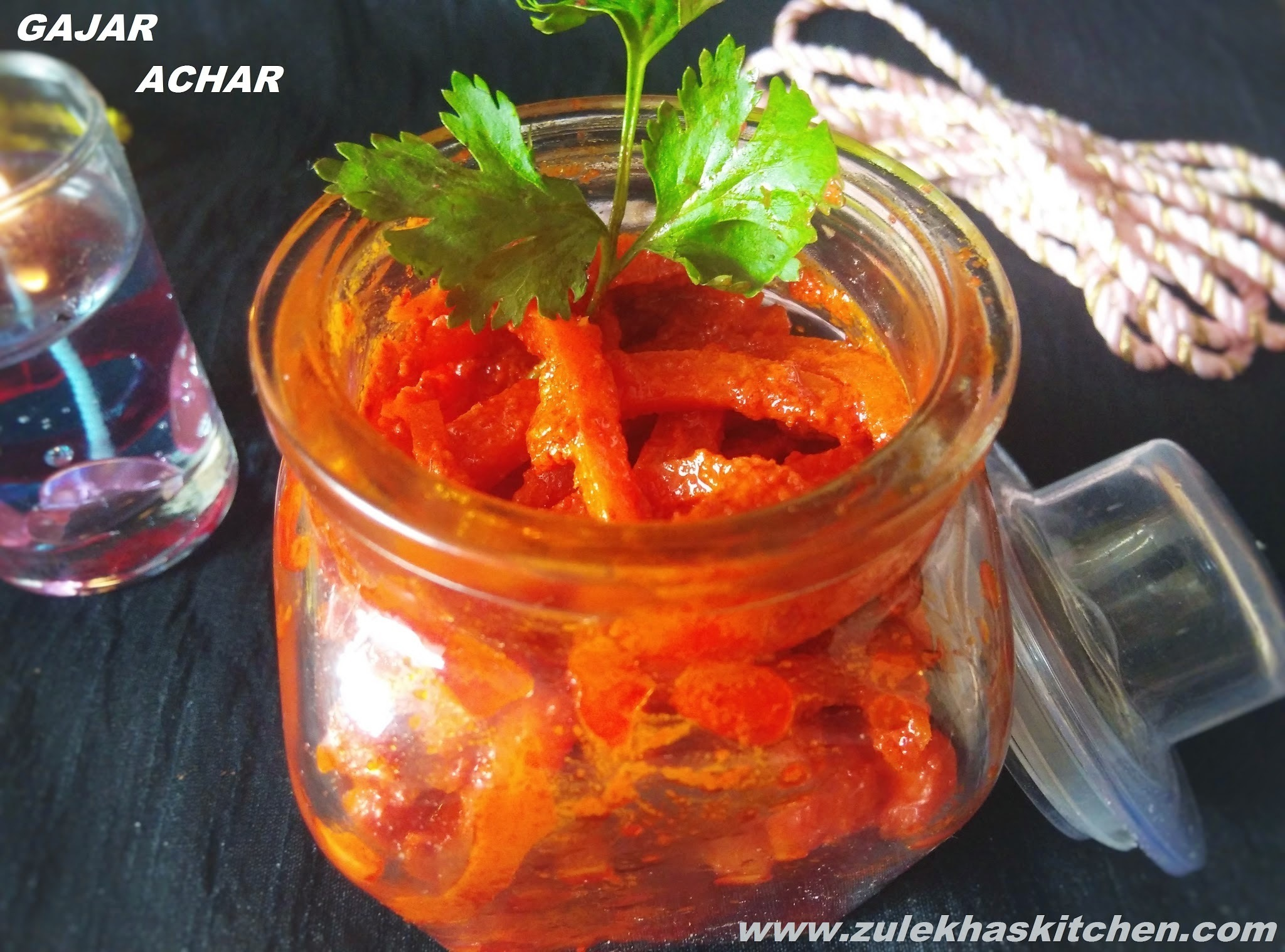 Recipe of Gajar Achar / Instant Carrot Pickle