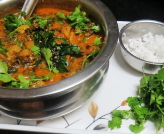 Knol knol & Bombay Basale Leaves Curry