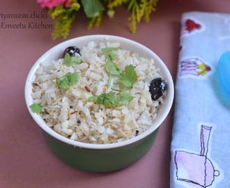 Coconut Poha - Breakfast Recipe under 15 minutes