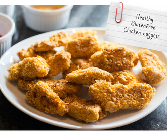 healthy, glutenfree chicken nuggets