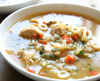 Cajun Chicken Noodle Soup