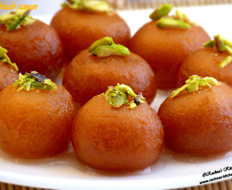 Gulab Jamun Recipe With Milk Powder|Restaurant Style Gulab Jamun