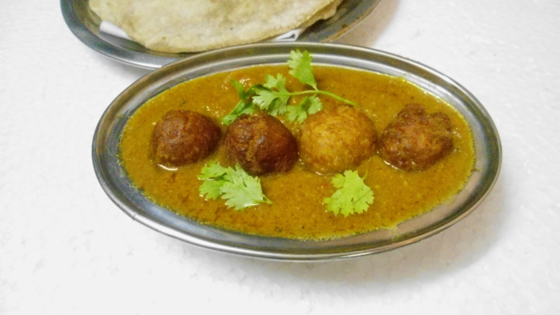 Jamun Kofta Masala | Easy Side Dish for Roti / Chapathi