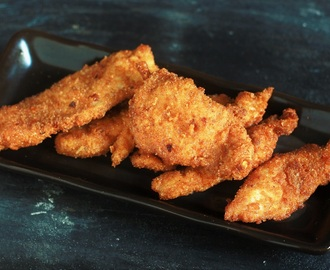 Homemade Spicy Copycat Chicken Tenders Recipe
