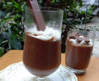 Chocolate Mascarpone Mousse - Guest post by Gloria