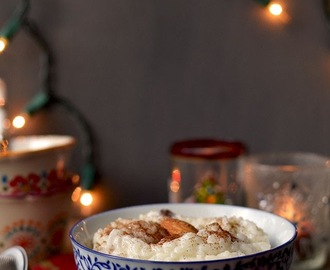 Swedish Rice Pudding for #Food of the World