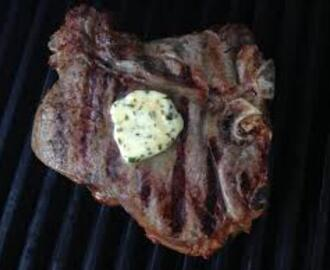 Why Mom Was Right About Porterhouse Steak's & Herb Butter