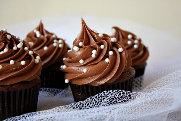 Cupcake de Yogurt & Chocolate