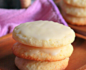 Eggless Lemon Ricotta Cookies