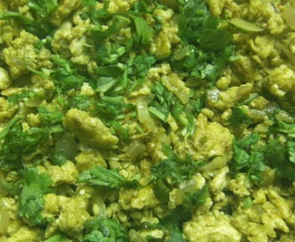 Egg Bhurji (Indian Scrambled Eggs)