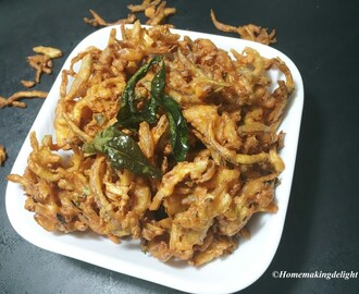 Onion Cabbage Pakoda Recipe – Tasty Tea time snack