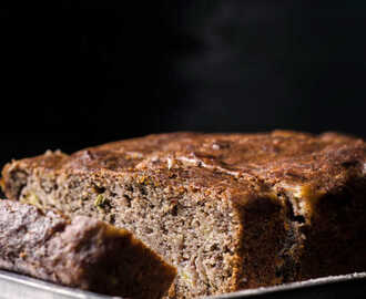 Ragi Banana Bread / Eggless Ragi Honey Bread