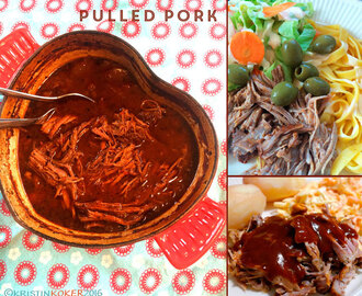 Superenkel pulled pork (langstekt svinekjøtt)