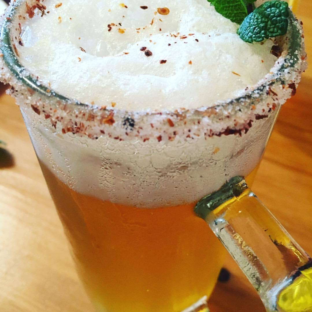 Michelada, receta chilena