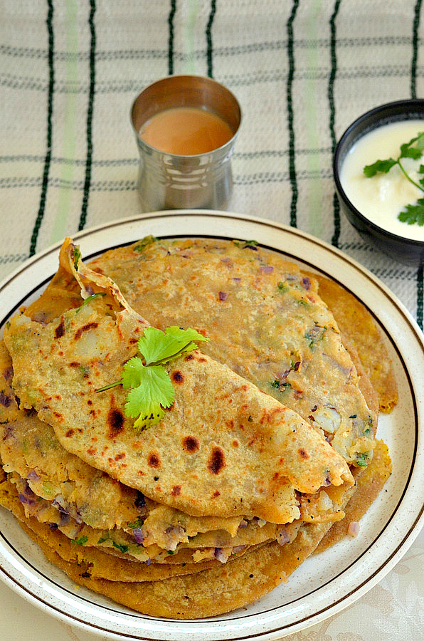 Aalu Paratha – step by step recipe with tips to make it healthier