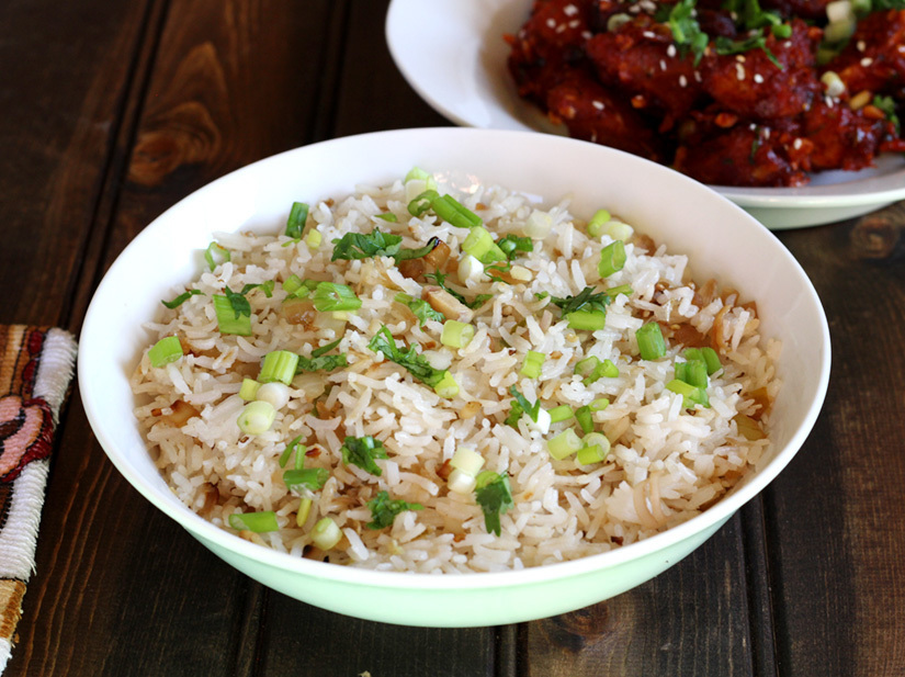 FLAVORED RICE WITH LEMON GRASS