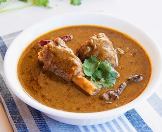 Paayaa - Slow cooked Goat leg curry