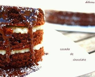 Receita - Cocada de chocolate