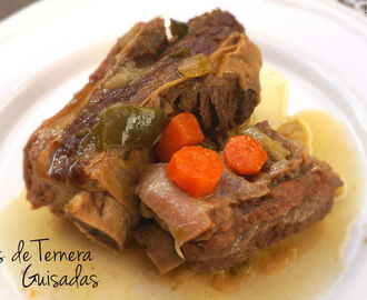 Costillas de Ternera Guisadas