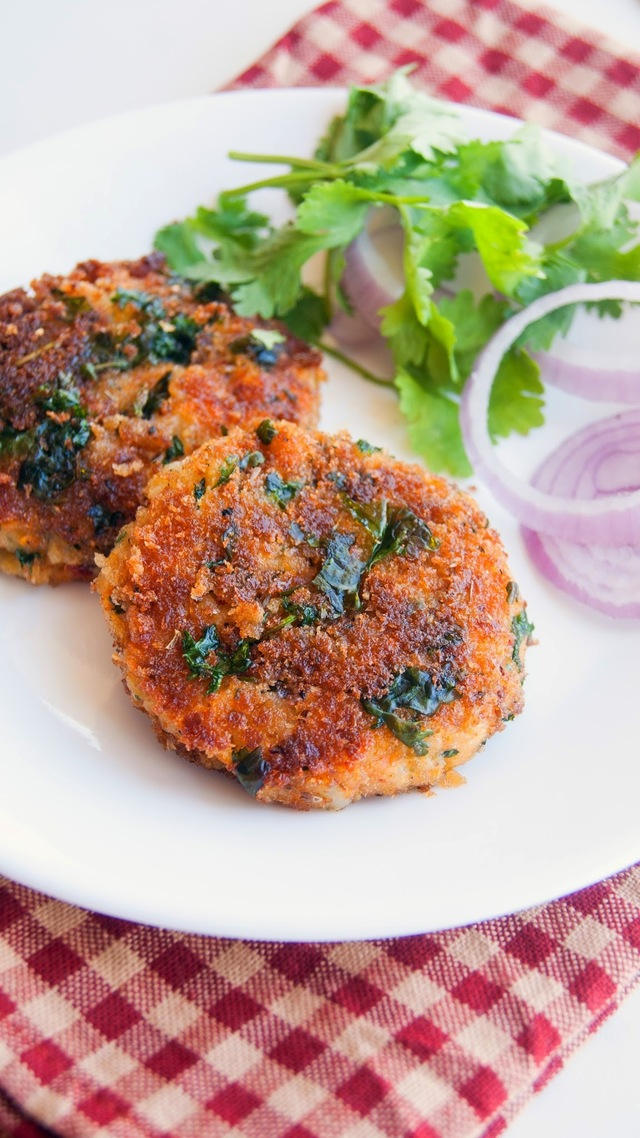 Potato Paneer and Carrot Cutlets