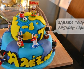 Τούρτα Rabbids Invasion - Birthday Cake Rabbids Invasion