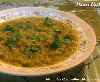 Masoor Daal Recipe | Red Lentils Curry