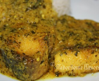Methi Rui - Fish (Rohu) in Fenugreek Sauce