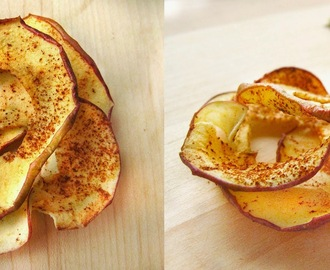 Apple chips (Healthy snack)