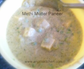 METHI MUTTER PANEER
