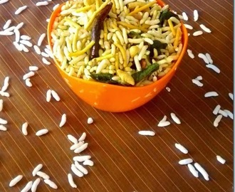 Kara Pori (Spicy Puffed rice)–Karthigai Deepam recipes