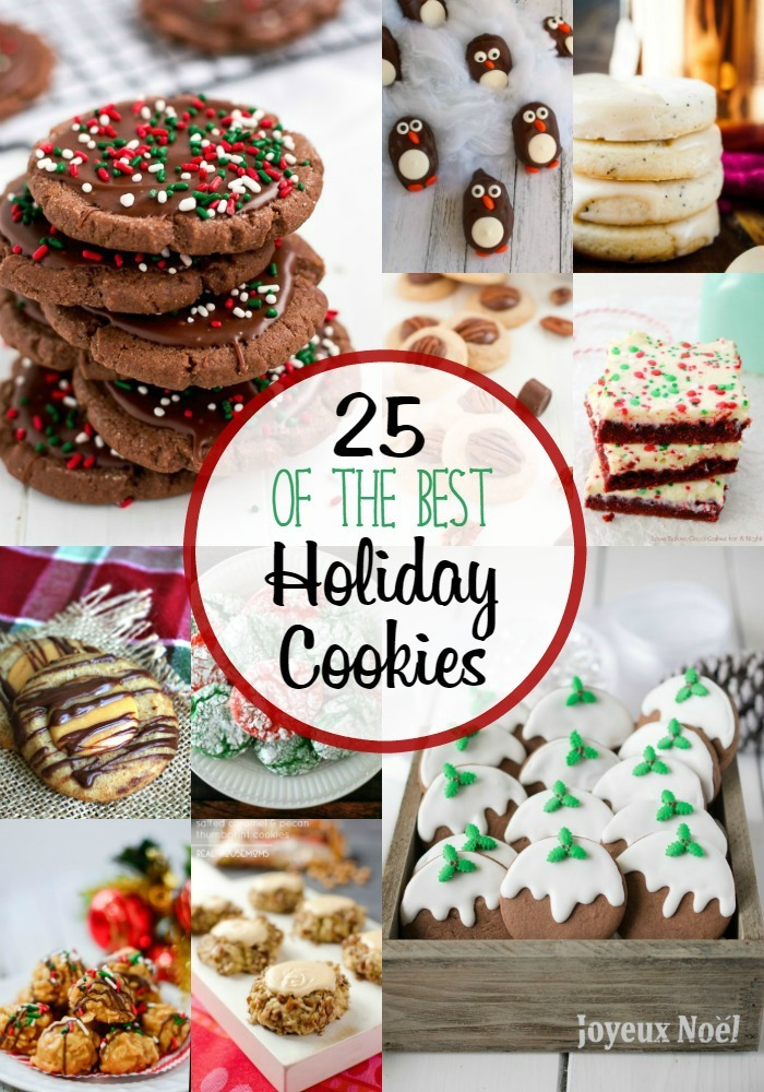 25 Holiday Cookie Recipes + a $400 cash giveaway