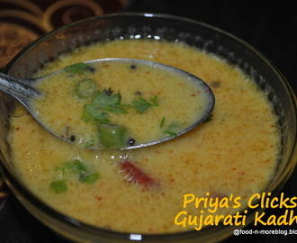 Recipe : Gujarati Kadhi / How to make kadhi in gujarati style