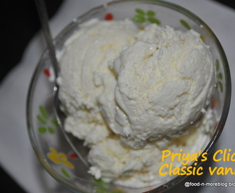 Recipe: Classic Vanilla Icecream | how to make eggless vanilla icecream at home