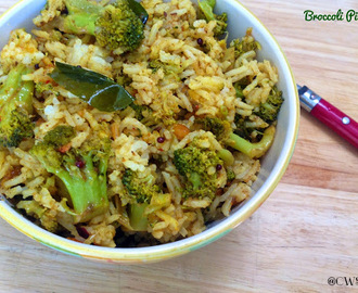 Broccoli Rice /How to make Broccoli Pulav