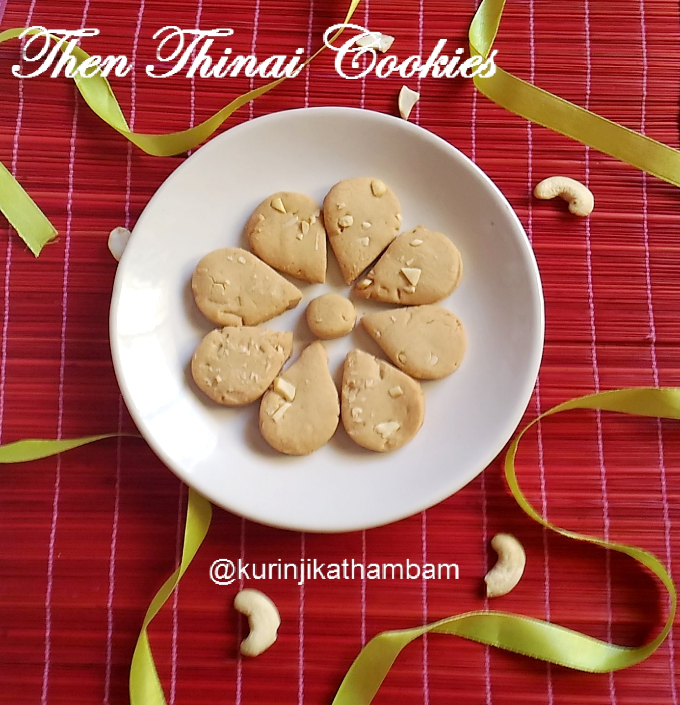Then Thinai Cookies using Electric Rice Cooker /  / Foxtail Millet Honey Cookies