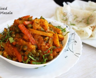 CREAMY VEGETABLE MASALA - EASY VEGETABLE SIDE DISHES