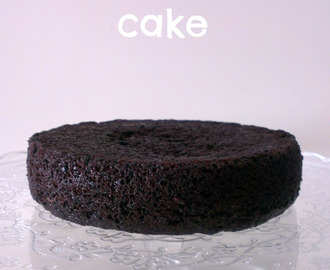 ♥ Doble chocolate cake de la Miette Bakery