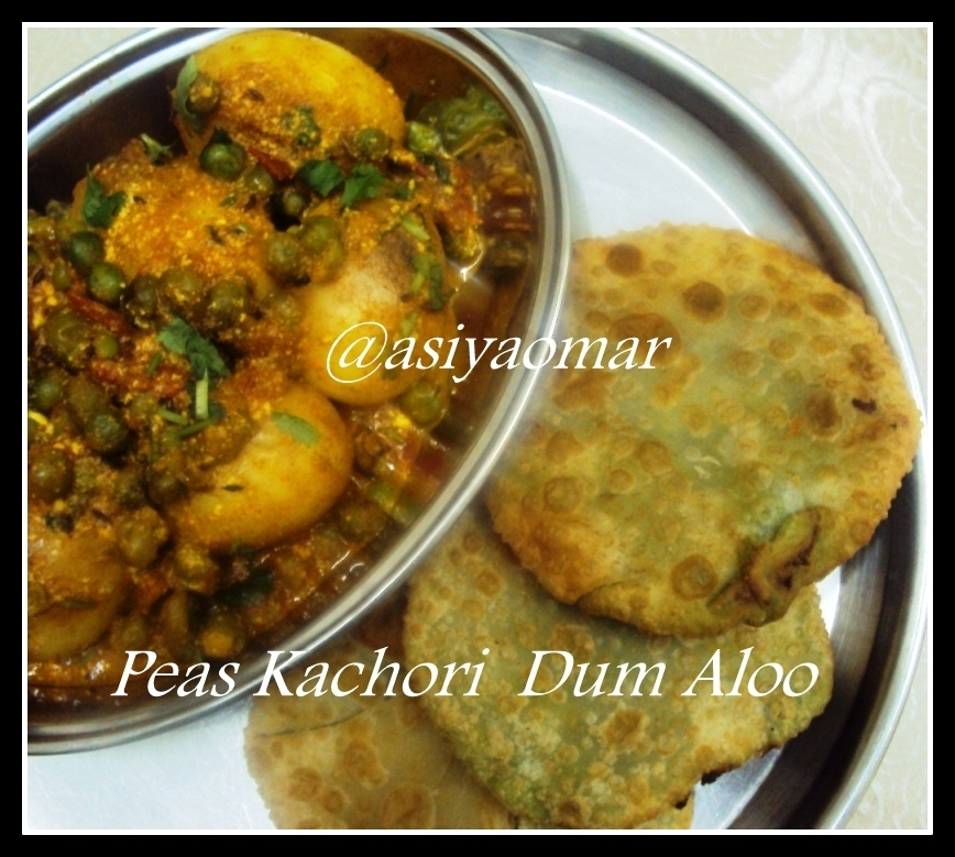 Green Peas Kachori with Spicy Dum Aloo - SNC -5