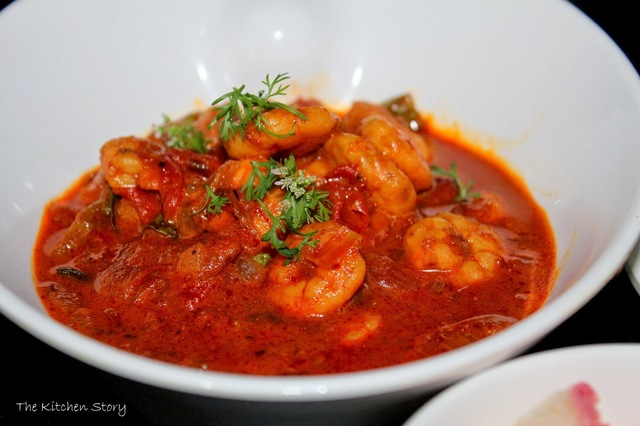 Prawn Curry recipe cooked in Coconut milk