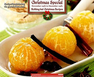 Spice Boiled Clementines / Krydderkokte Klementiner