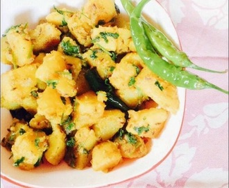 Jeera aloo recipe / aloo jeera recipe / soothe aloo / cumin flavoured potatoes / how to make aloo jeera