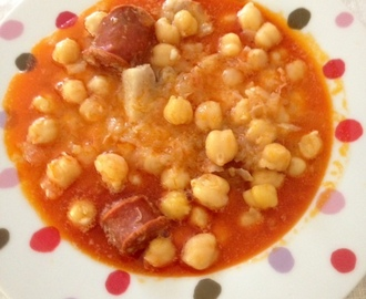 Garbanzos express (thermomix)