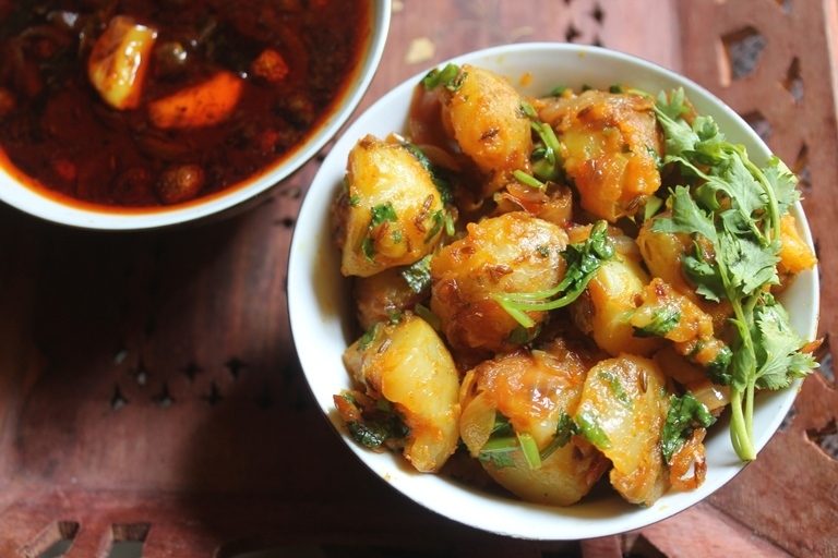 Jeera Hing Aloo Recipe - Potatoes with Cumin Seeds & Asafoetida