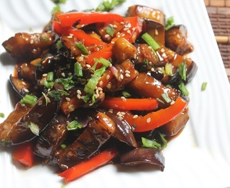 Sweet and Sour Eggplants Recipe