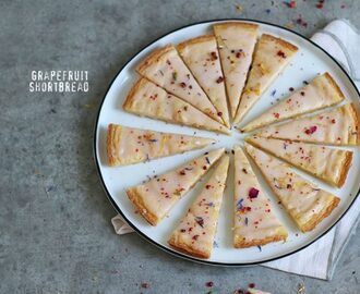 Grapefruit Shortbread