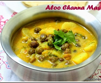 Aloo Channa Masala(Potato chickpeas curry)
