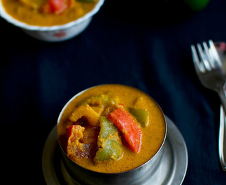 simla mirch ka salan - capsicum/bell pepper curry