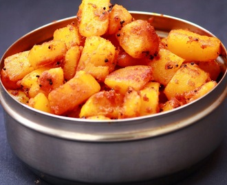 Potato roast / how to make potato roast / easy potato recipe / no onion no garlic recipe